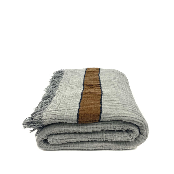 FlyInn Cotton Throw Blanket - H+E Goods Company