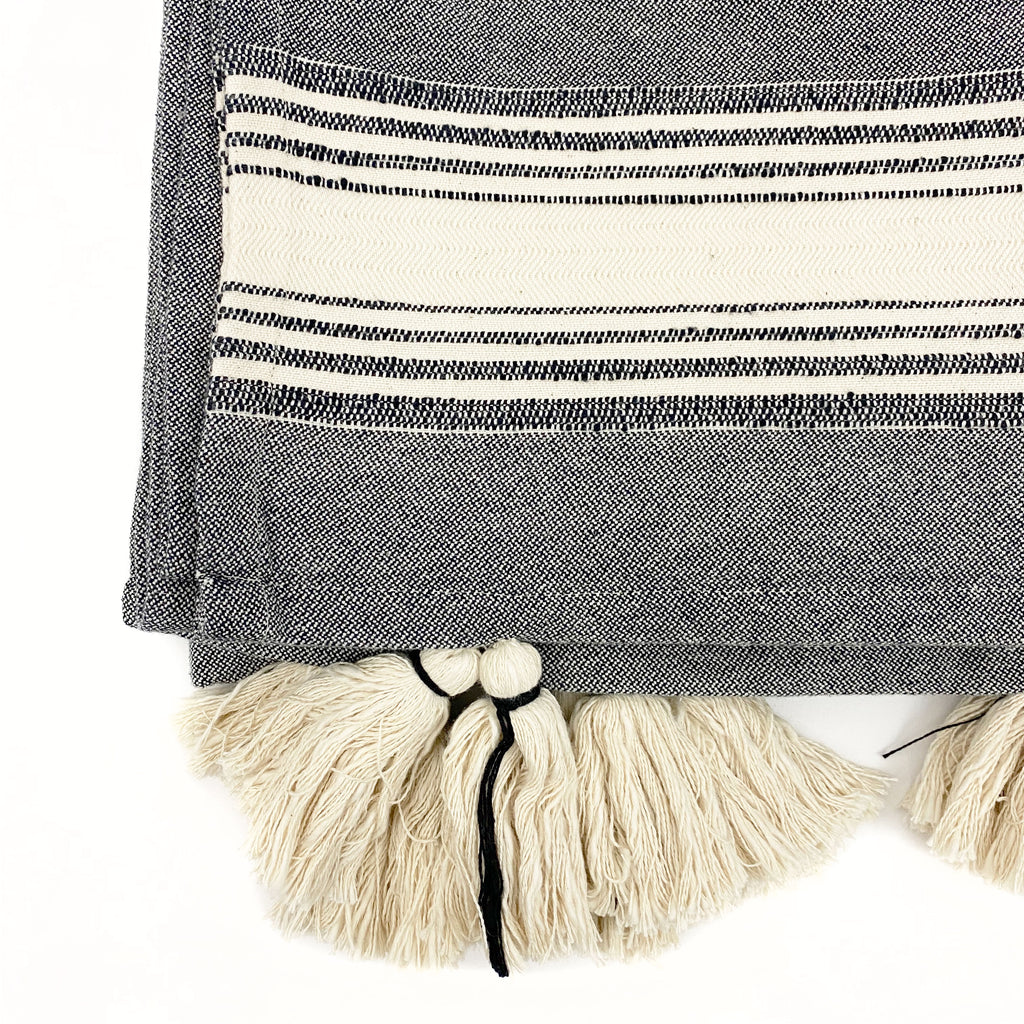 Samba Cotton and Linen Throw Blanket - H+E Goods Company