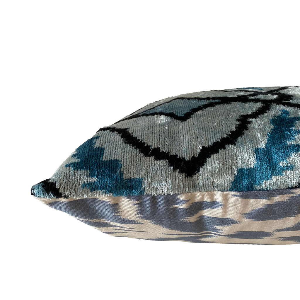 Turkish Ikat Lumbar Pillow - H+E Goods Company