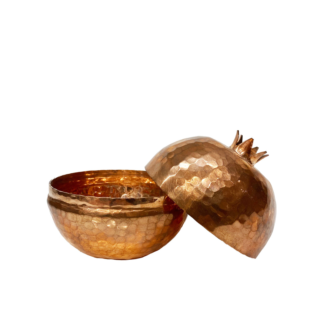 Large Pomegranate Copper Bowl - H+E Goods Company