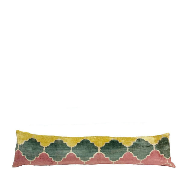 Aida Ikat Long Lumbar Pillow - H+E Goods Company
