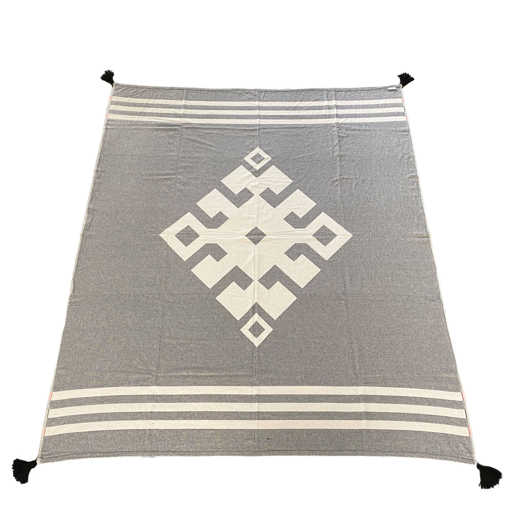 Hitit Medallion Throw Blanket - H+E Goods Company