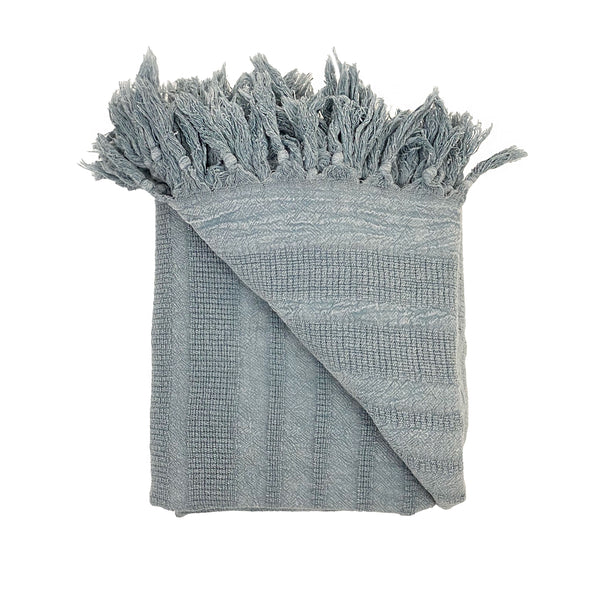Stone Washed Throw Blanket - H+E Goods Company