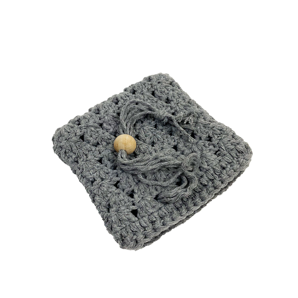 Hand Knitted Soap Pouch - H+E Goods Company