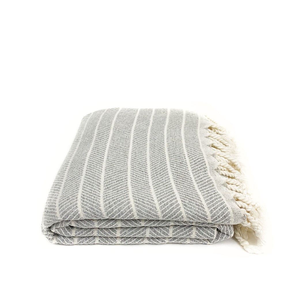 Soft Bamboo Throw Towel - H+E Goods Company