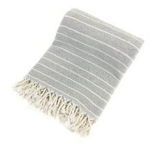 Load image into Gallery viewer, Soft Bamboo Throw Towel - H+E Goods Company