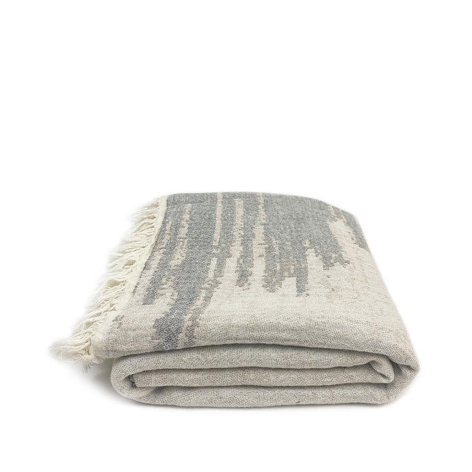 Abstract Soft Cotton Turkish Towel - H+E Goods Company