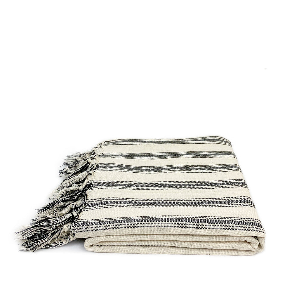 Niko Striped Turkish Towel - H+E Goods Company