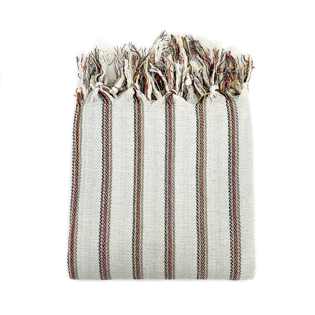 Dora Striped Turkish Towel - H+E Goods Company
