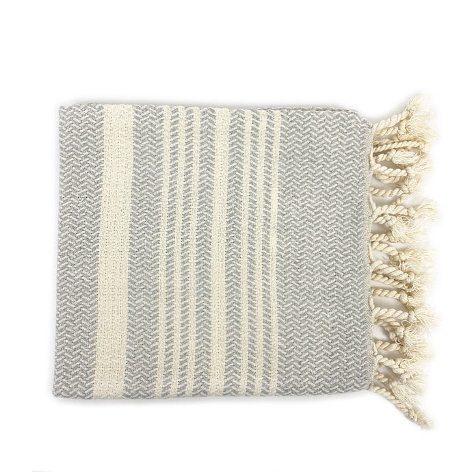 Textured Cotton Hand Towel - H+E Goods Company