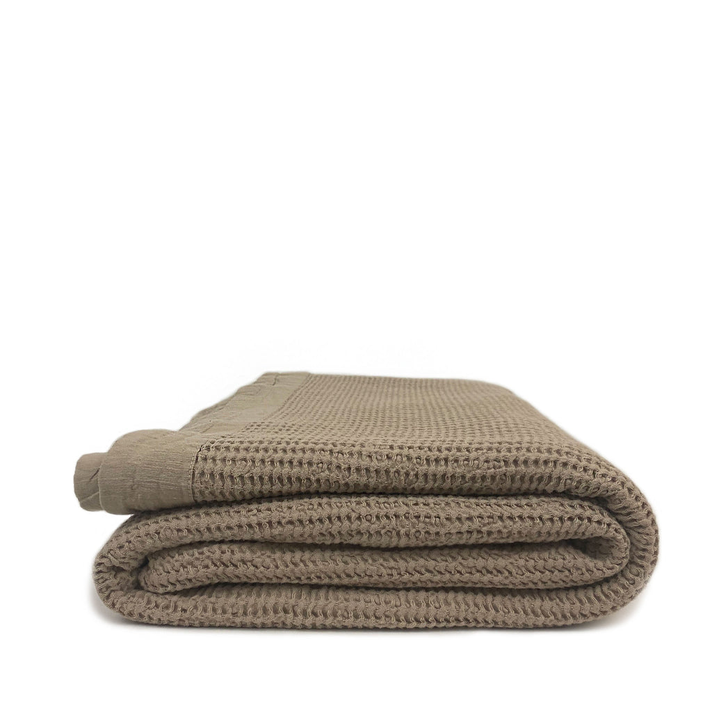 Soft Cotton Bed Blanket - H+E Goods Company