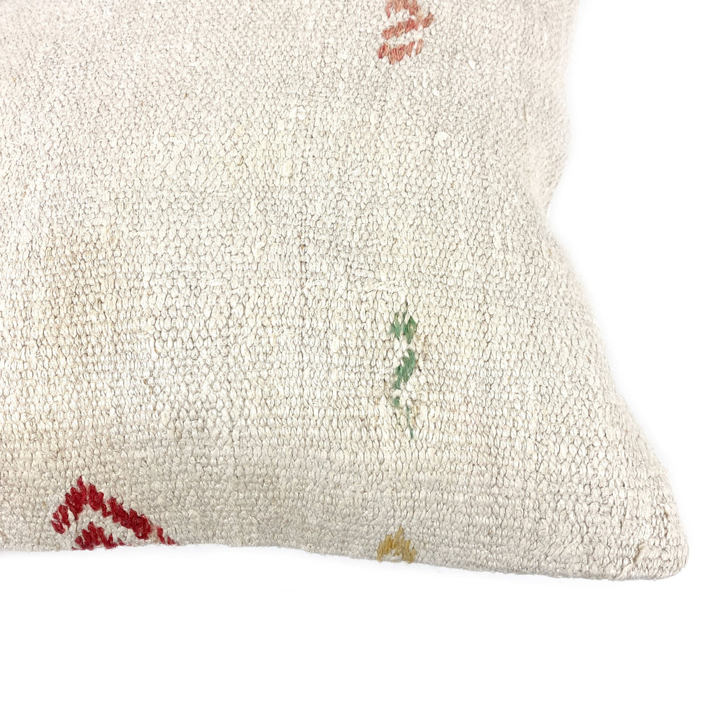 Embroidery Hemp Pillow - H+E Goods Company