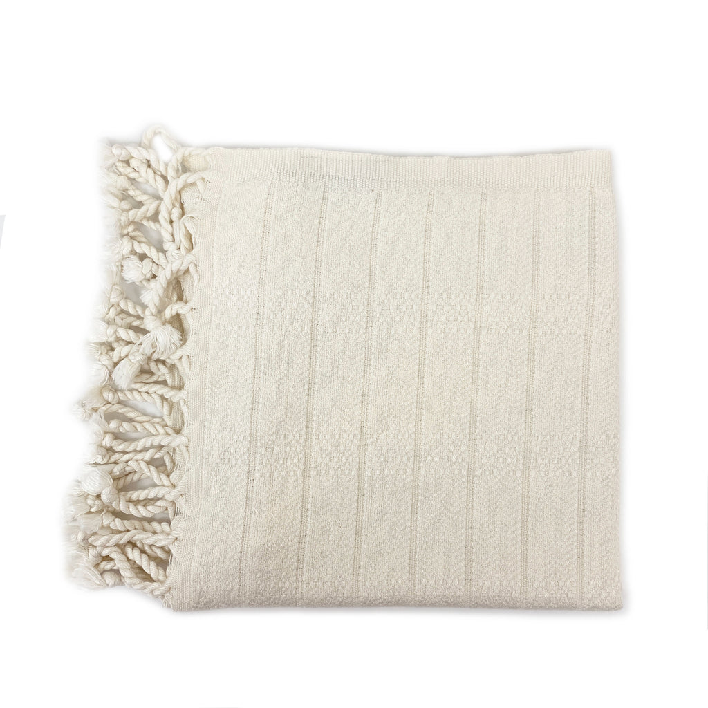 Bamboo Cotton Hand Towel - H+E Goods Company