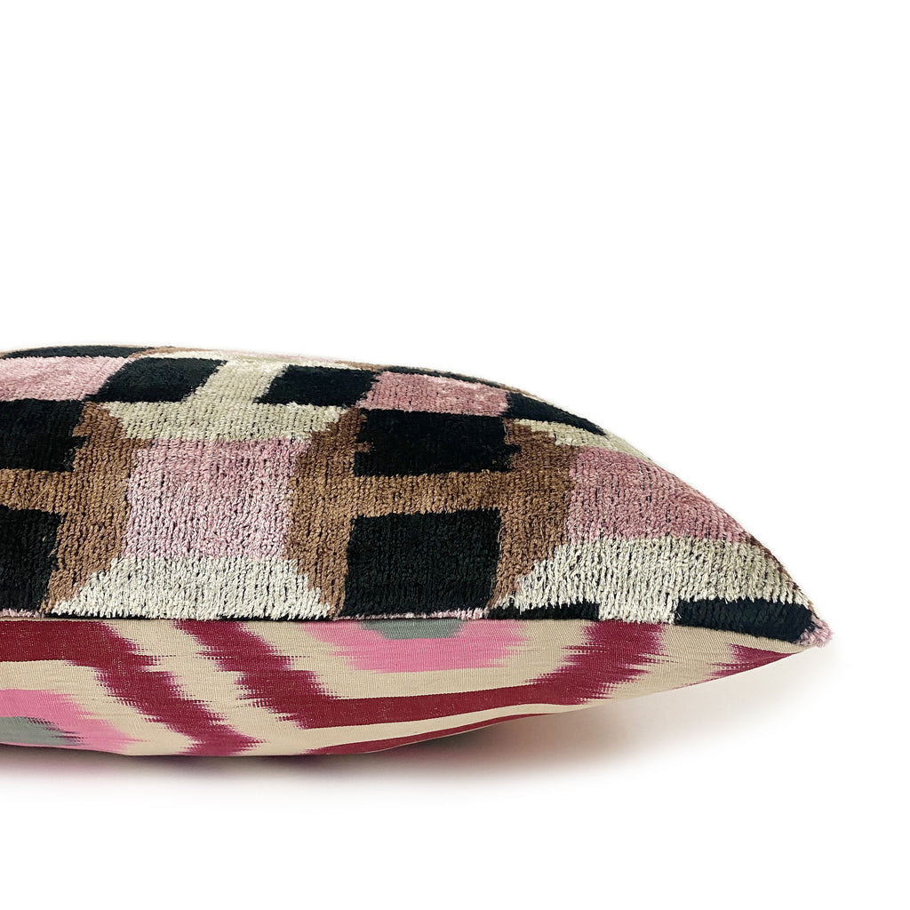 Selin Ikat Lumbar Pillow - H+E Goods Company