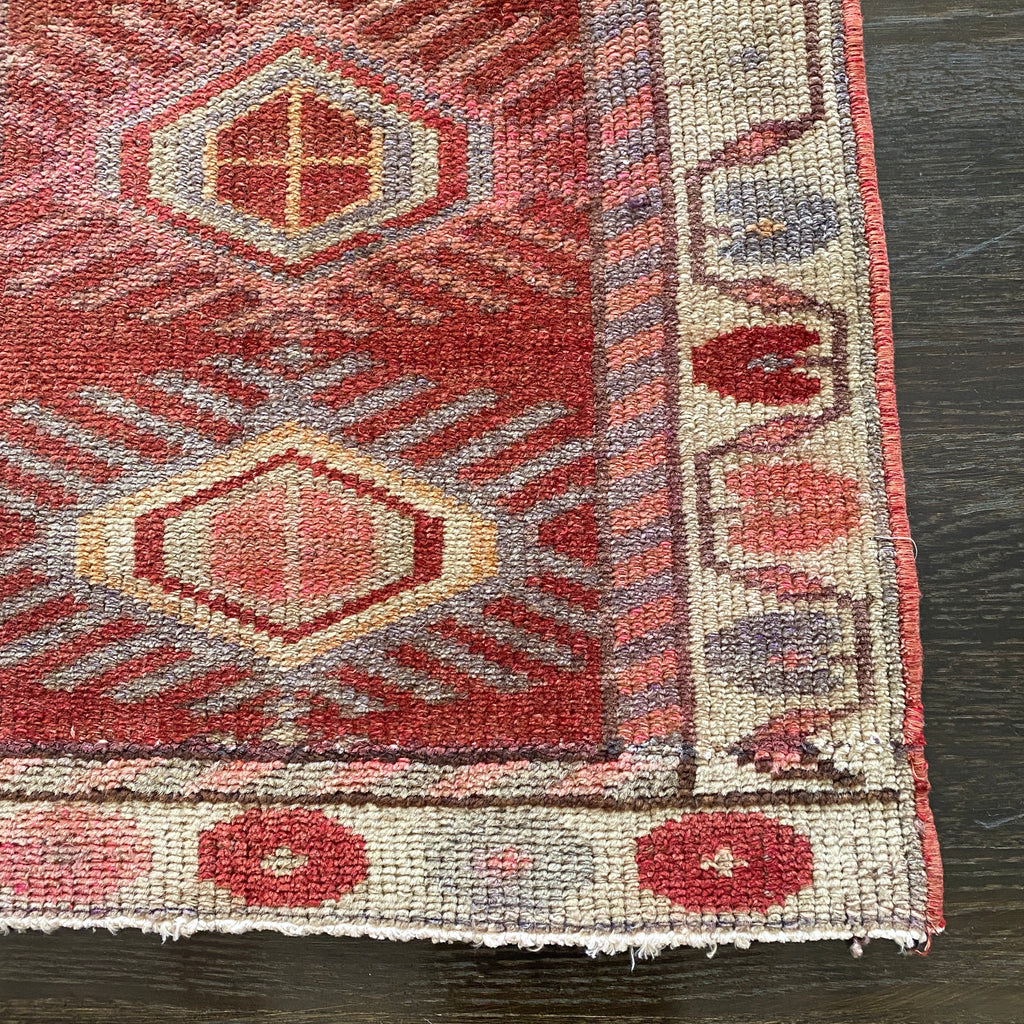 Hand-Knotted Vintage Runner - H+E Goods Company
