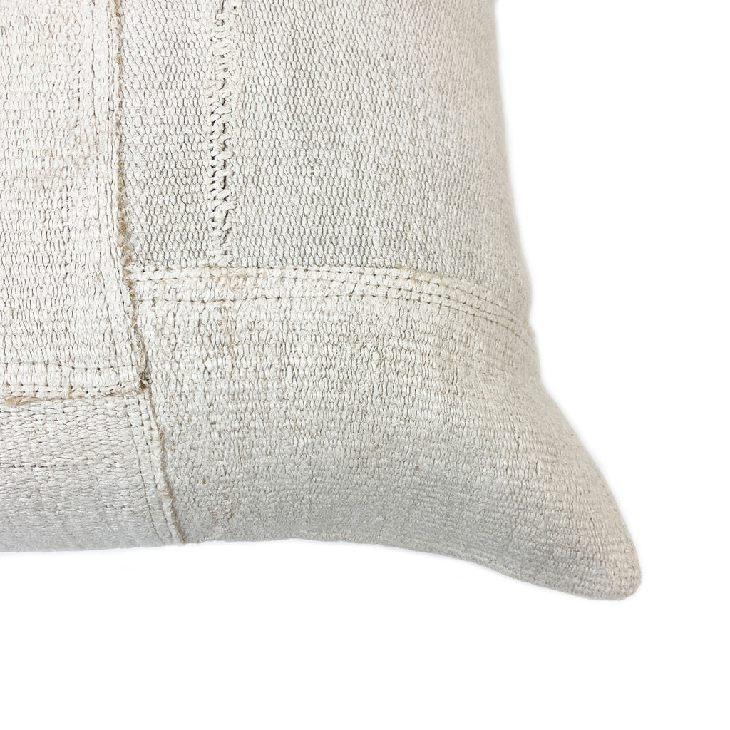 Minder Hemp Patchwork Floor Cushion - H+E Goods Company