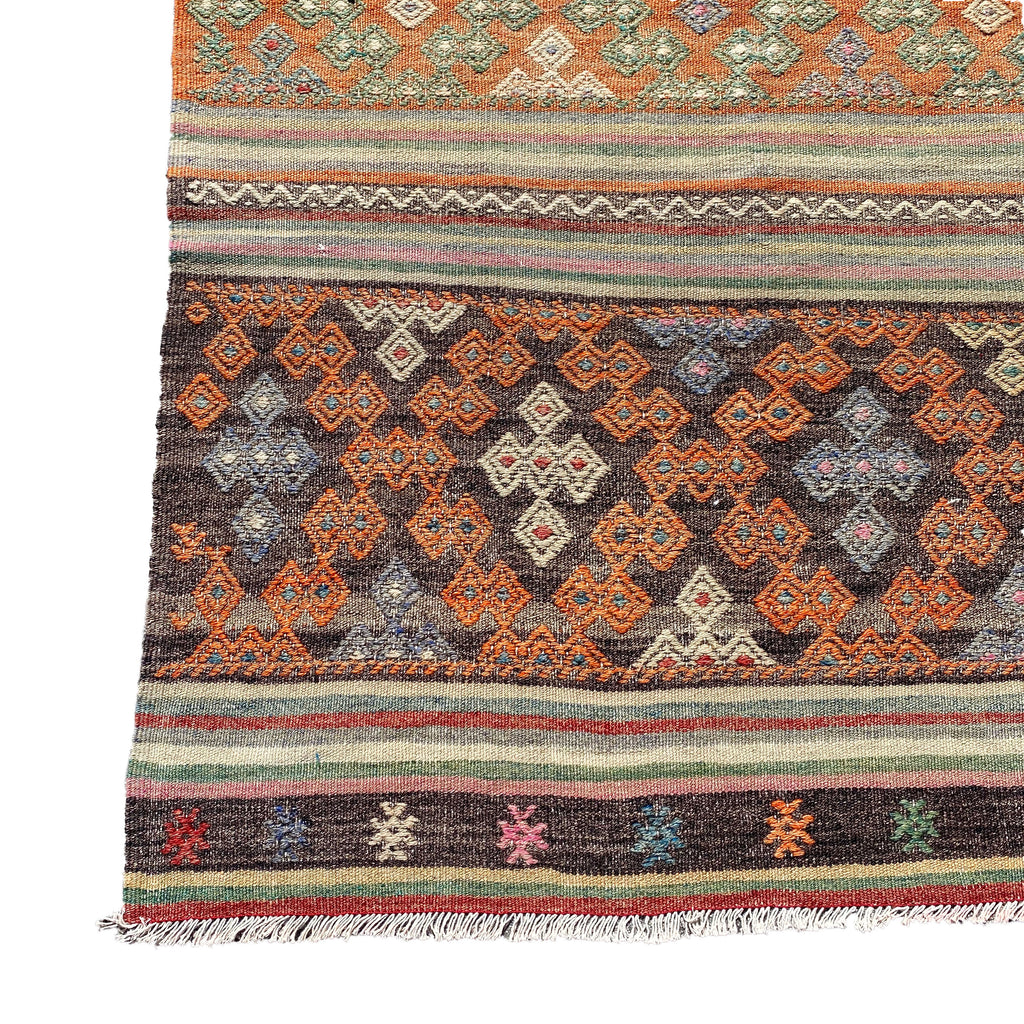 Vintage Embroidered Kilim - H+E Goods Company