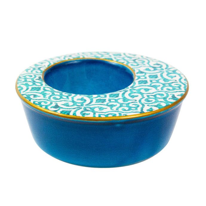 Classic Turquoise Serving Bowl - H+E Goods Company