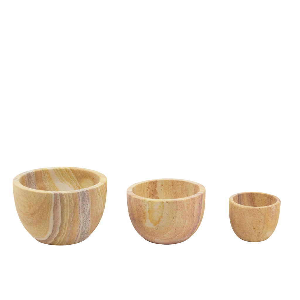 Sandstone Medium Bowl - H+E Goods Company