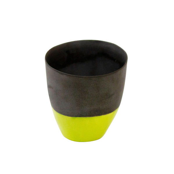 Lime Two Tone Coffee Cup - H+E Goods Company