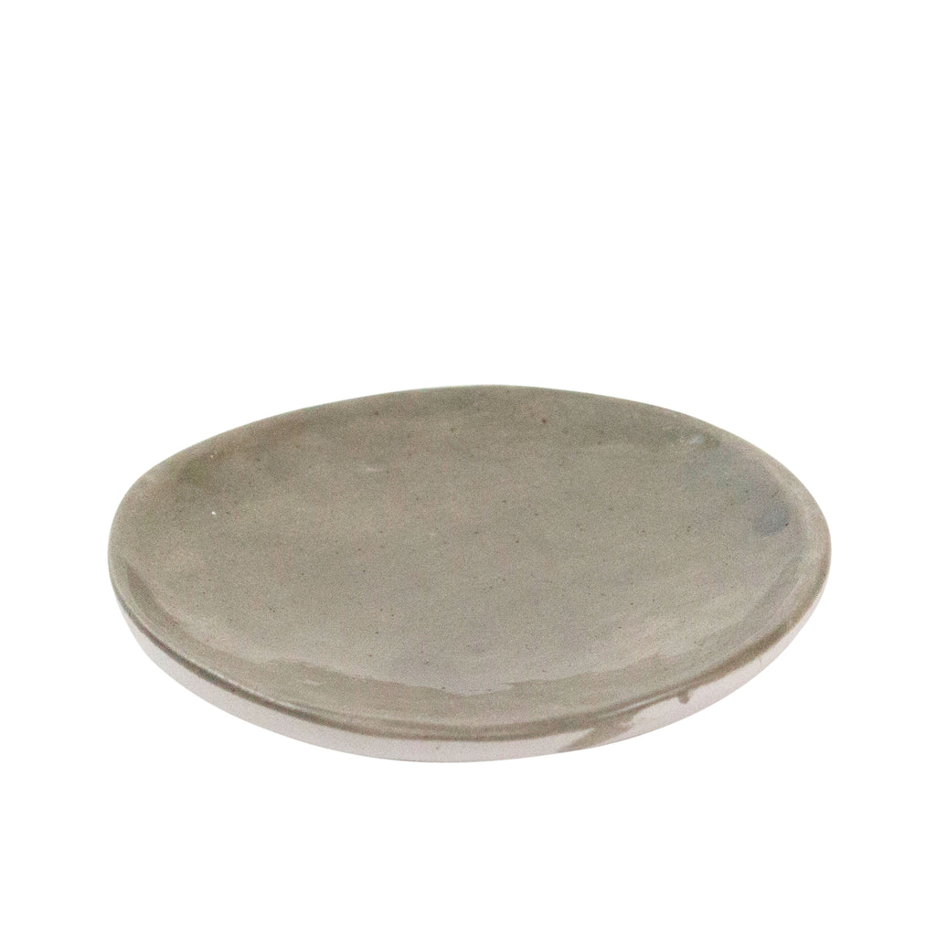 Mini Ash Ceramic Plate - H+E Goods Company