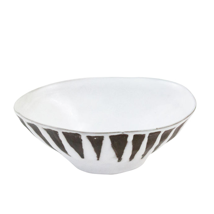 Ethnic Black & White Bowl - H+E Goods Company