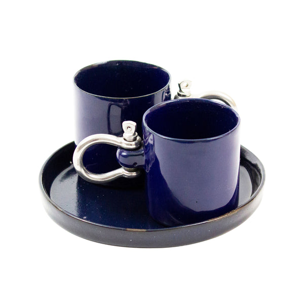 Porcelain Sailor Mug Set - H+E Goods Company