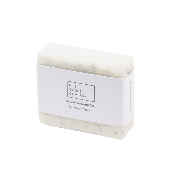 Blue Poppy Seeds Vegan Soap - H+E Goods Company
