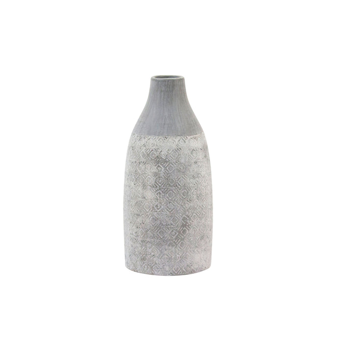 Etched Cloud Ceramic Vase - H+E Goods Company