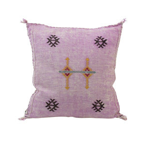 Moroccan Silk Pillow