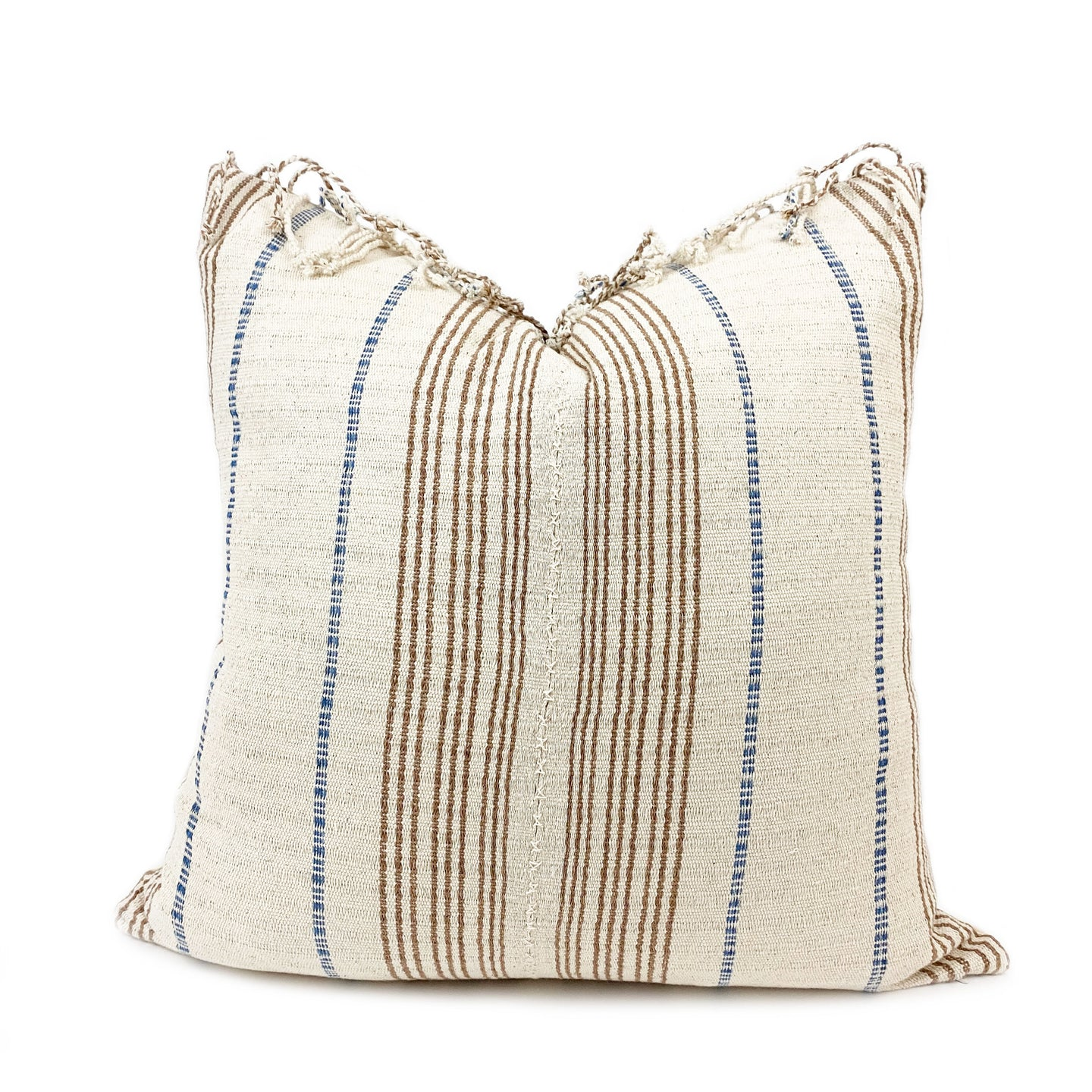 Anais Handwoven Throw Pillow - H+E Goods Company