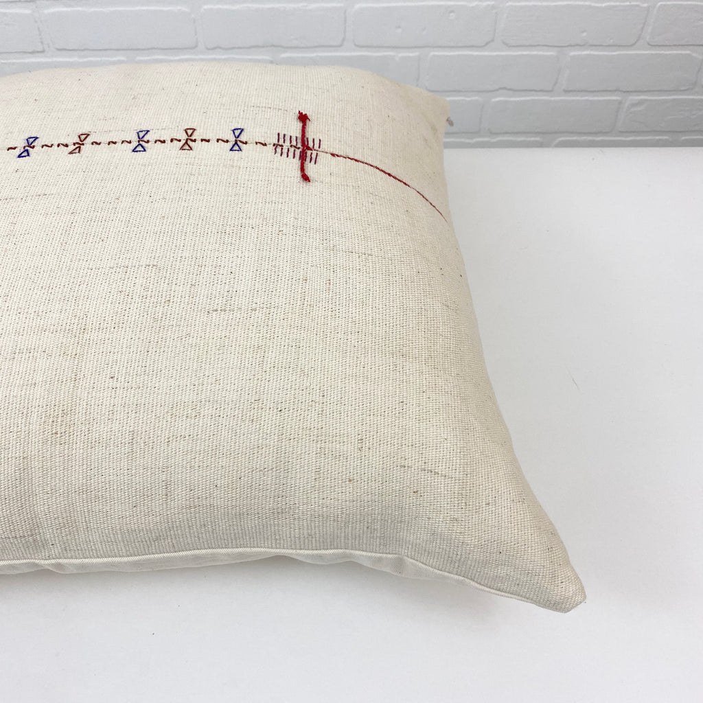 Zariah Handwoven Throw Pillow - H+E Goods Company