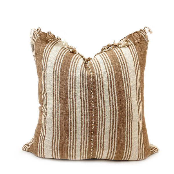 Eloise Handwoven Throw Pillow - H+E Goods Company