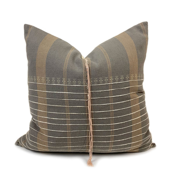Giselle Handwoven Throw Pillow - H+E Goods Company