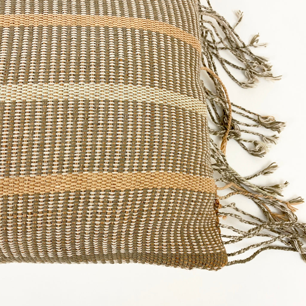 Ithaca Handwoven Throw Pillow - H+E Goods Company