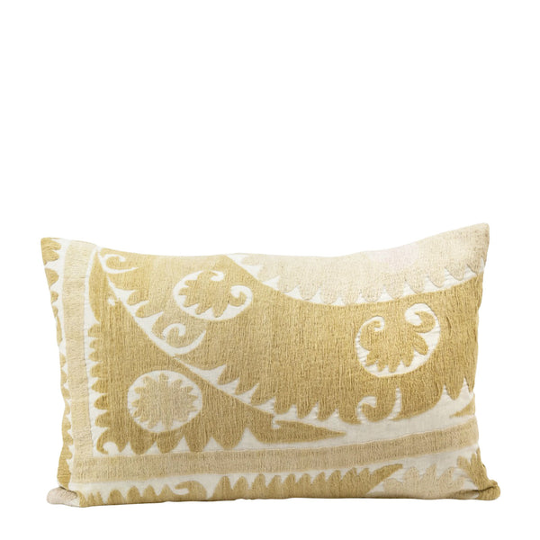 Vintage Suzani Embroidered Pillow - H+E Goods Company