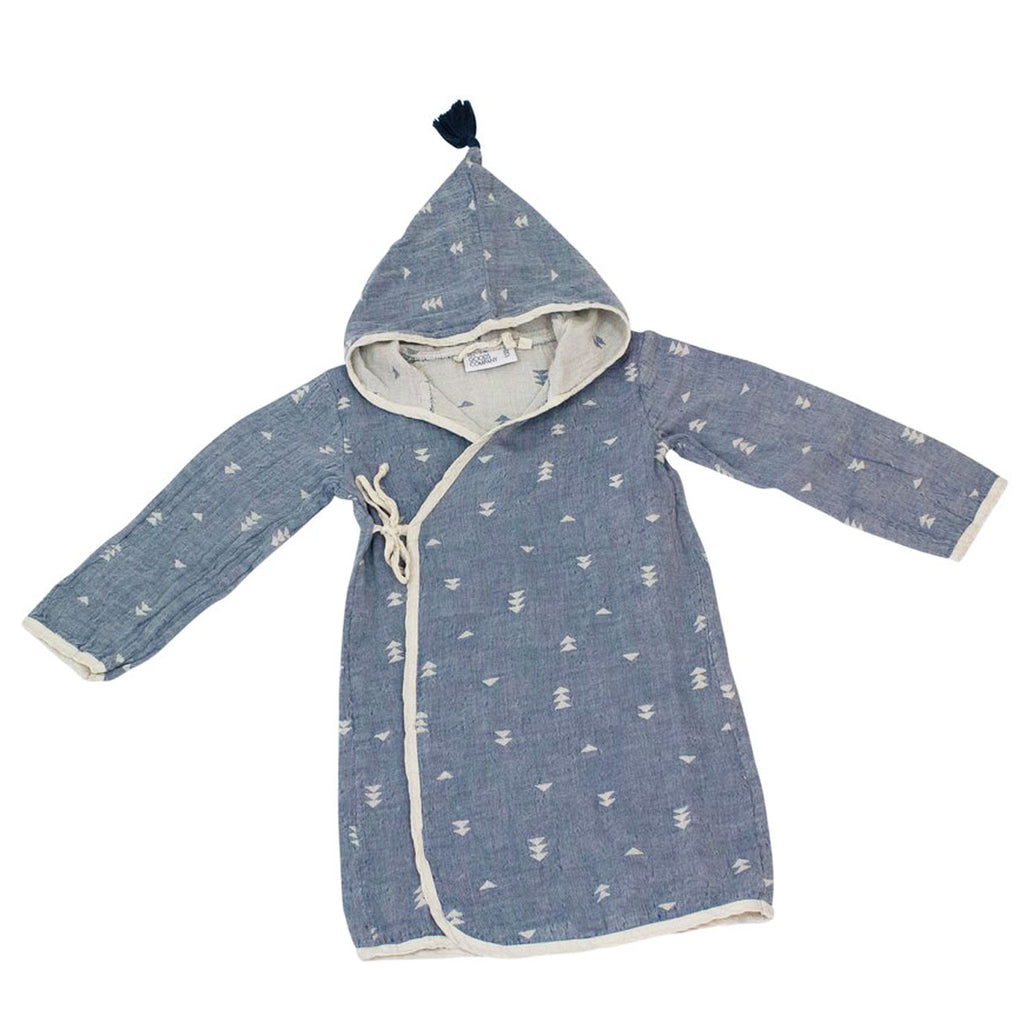 Organic Cotton Kids Robe - H+E Goods Company