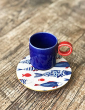 Load image into Gallery viewer, Espresso Cup with Saucer - H+E Goods Company