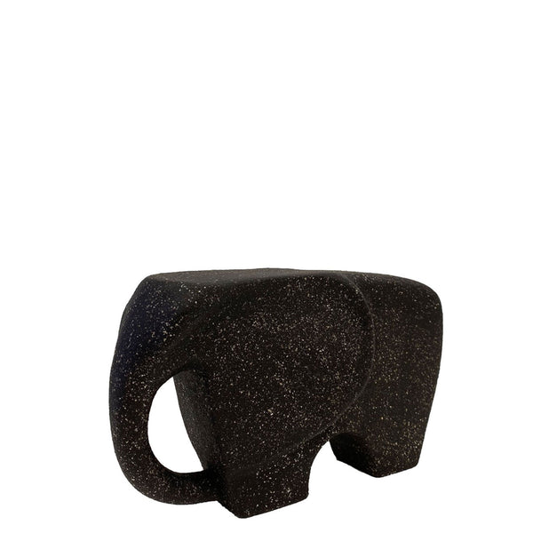 The Black Elephant Ceramic Sculpture - H+E Goods Company