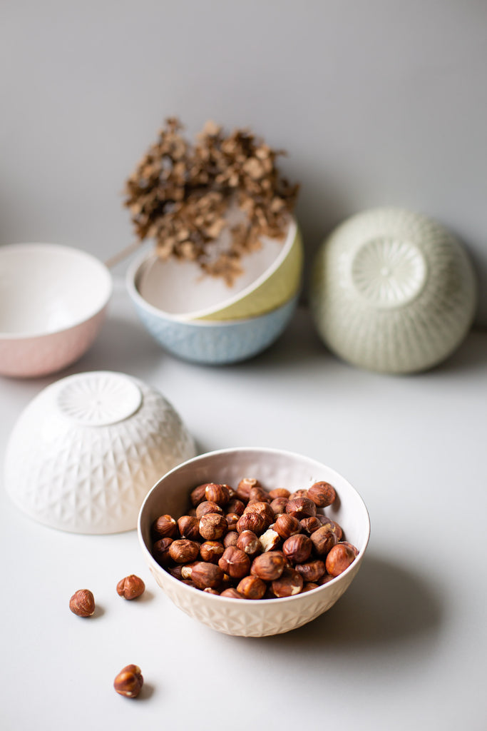 Kumiko Blush Textured Bowl - H+E Goods Company