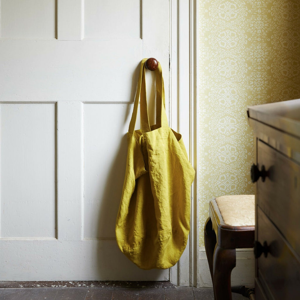 THE PURE LINEN COTSWOLD TOTE, DOVE - H+E Goods Company