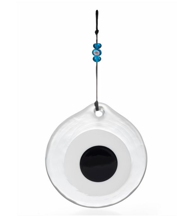 Evil Eye Medium with Blue Glass Beads - H+E Goods Company