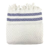 Blue Dot Striped Towels - H+E Goods Company
