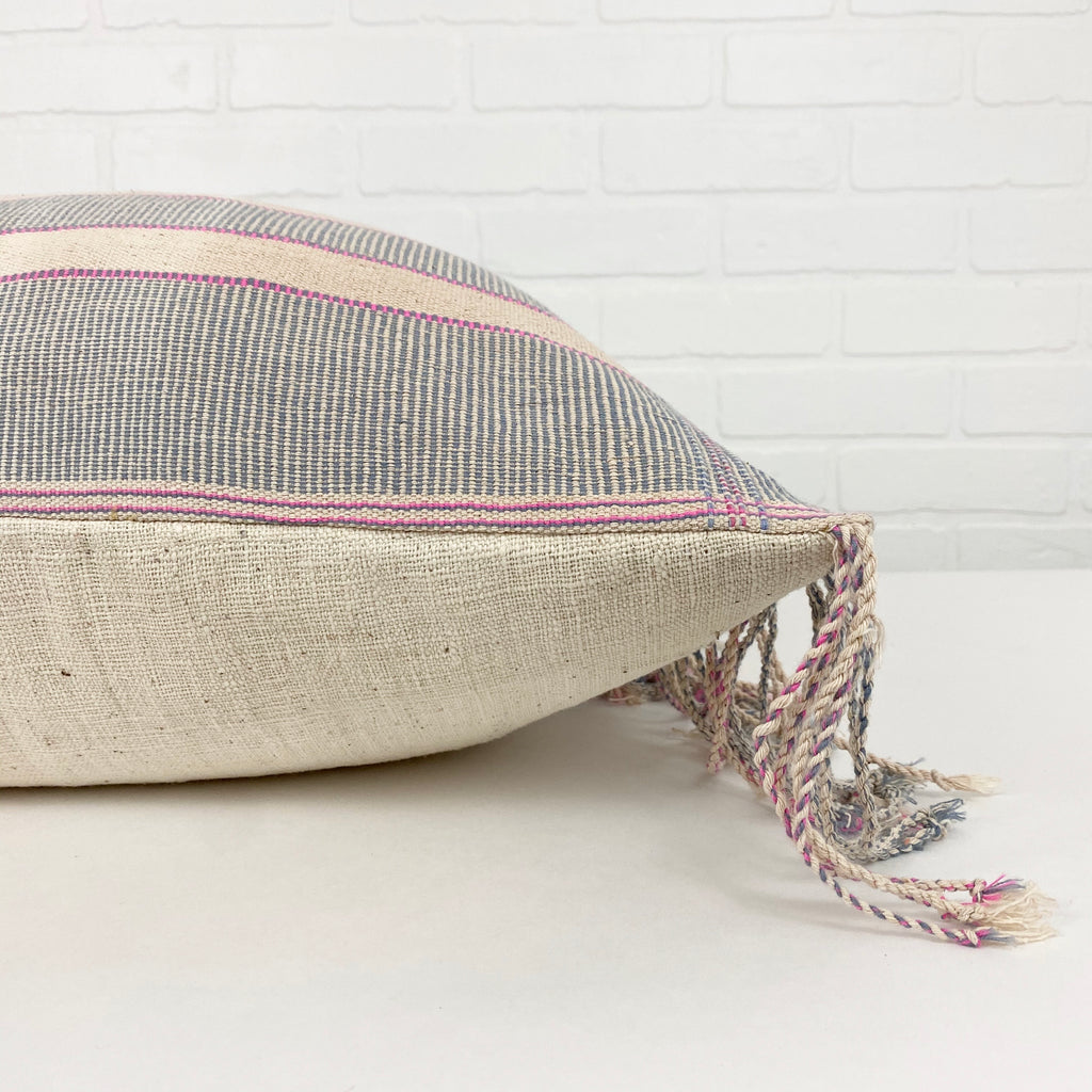 Isabelle Handwoven Pillow - H+E Goods Company