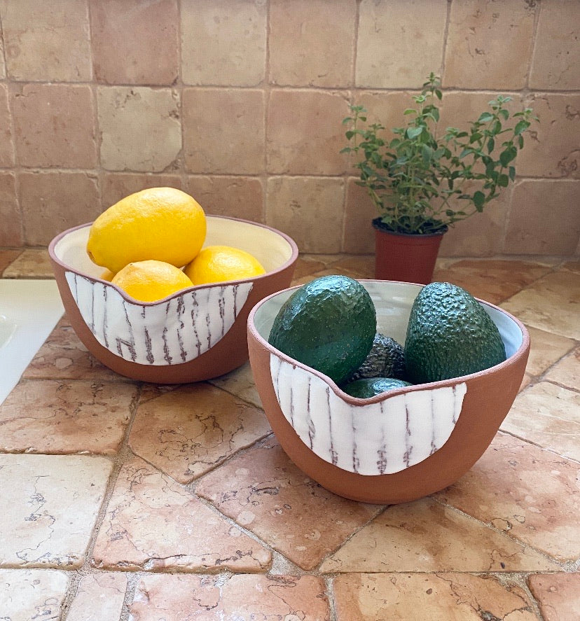 Terracotta Small Bowl - H+E Goods Company