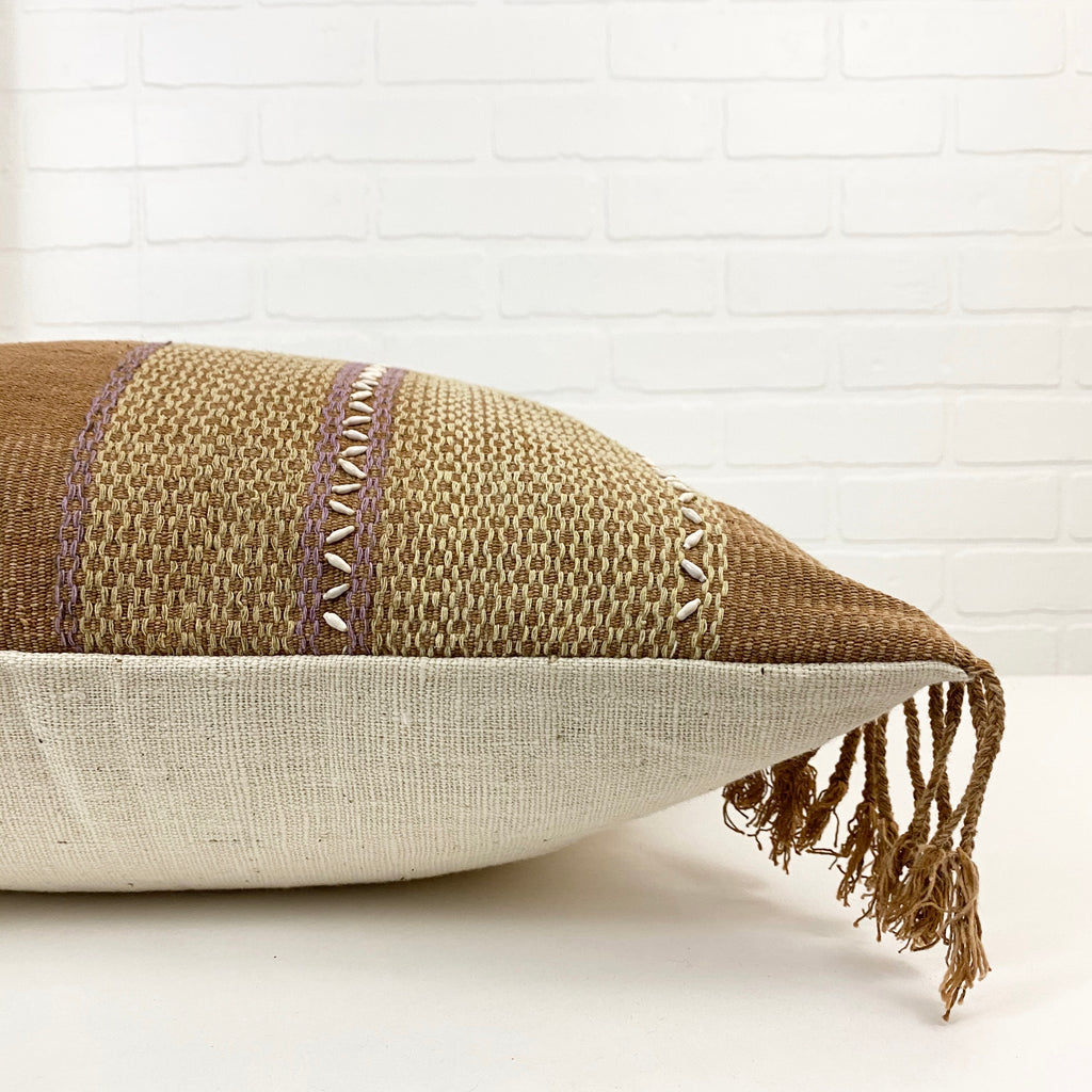 Capucine Handwoven Pillow - H+E Goods Company