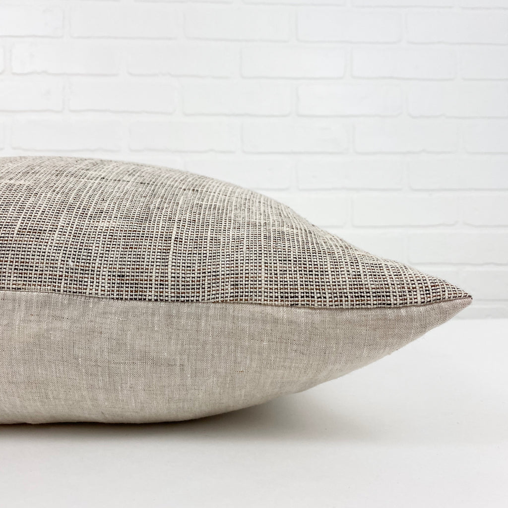 Sade Handwoven Pillow - H+E Goods Company