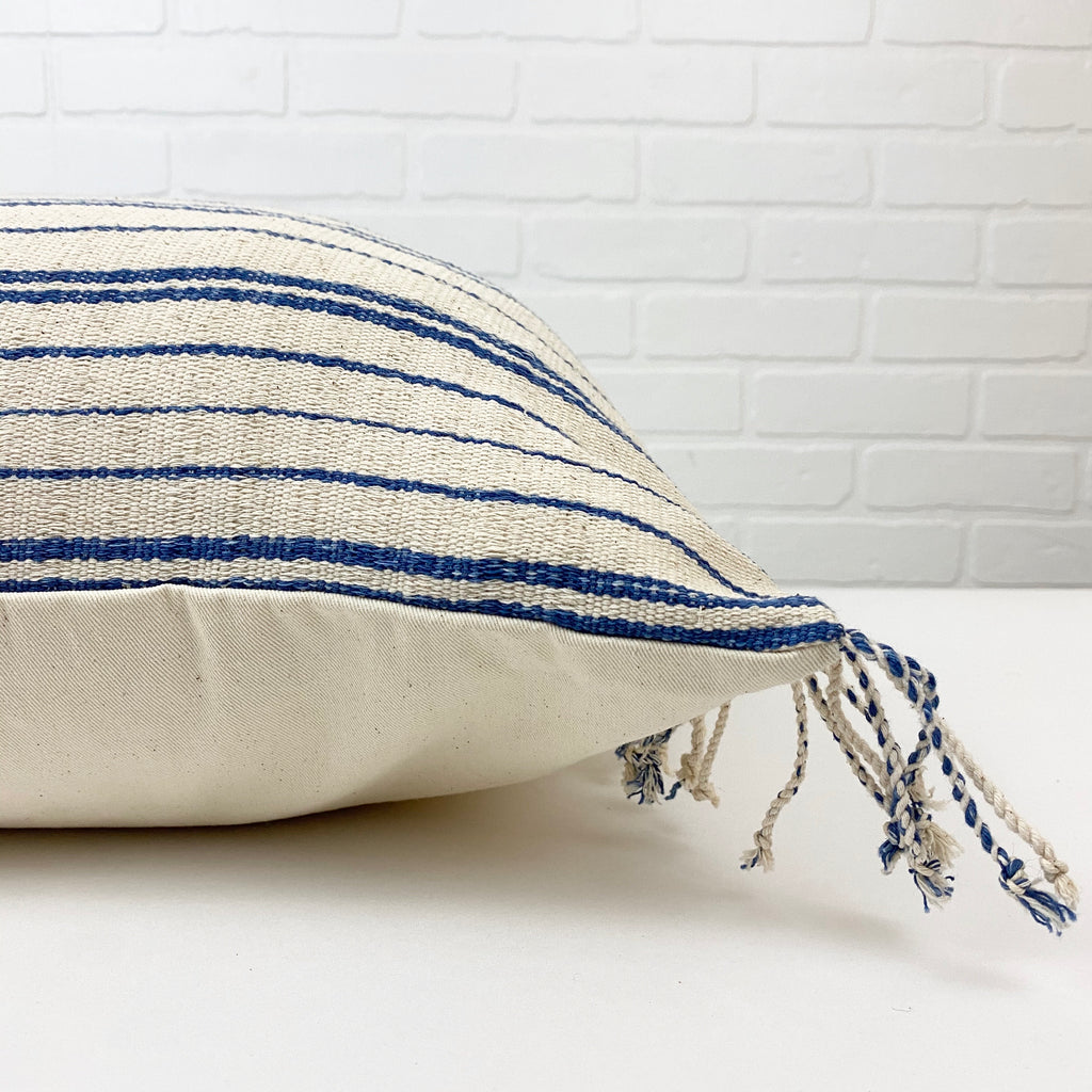 Deniz Handwoven Pillow - H+E Goods Company