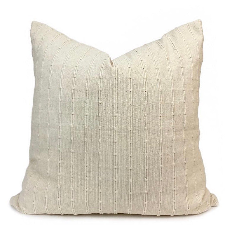 Troyes Handwoven Pillow - H+E Goods Company