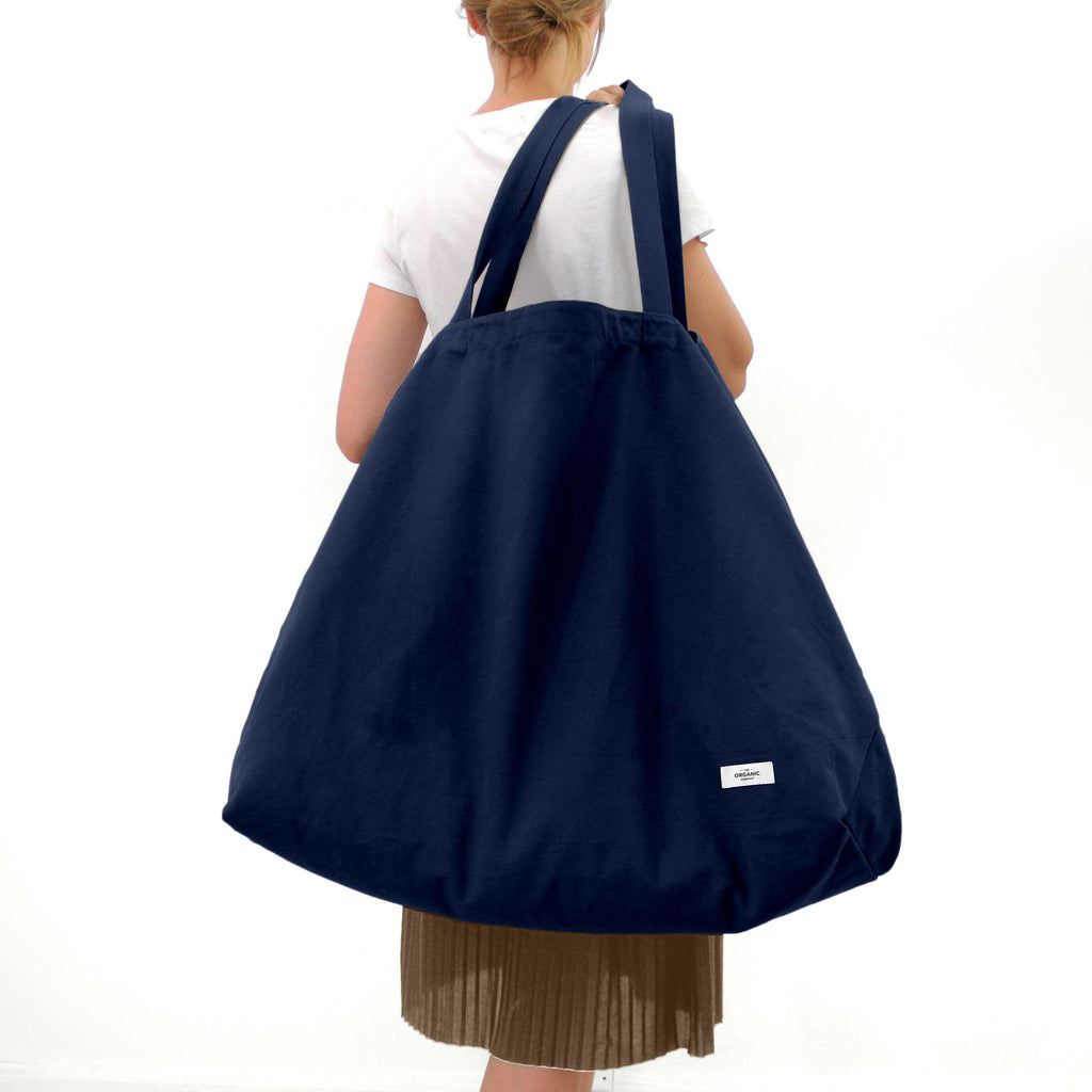 Big Long Bag - Dark Blue - H+E Goods Company